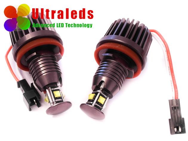 Ringi LED H8 - 80 Wat - BMW E81 E88 E93 M6 F01 Z4 - 8 x CREE XLamp®XP-E LED
