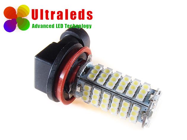 Żarówka H11 diody 102 x 1210 LED SMD BIAŁA