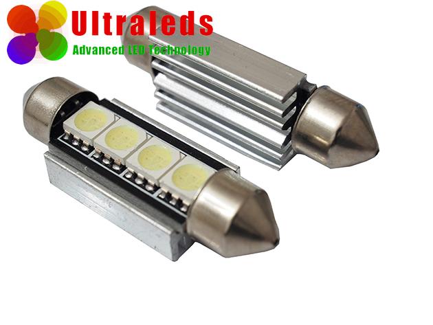 Żarówka LED canbus rurka 42 mm 4 SMD 5050 radiator