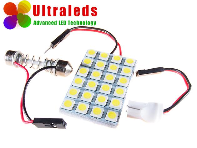 Żarówka panel LED SMD 24 x 5050 W5W T10 R10 SV 8.5, C5W, C10W