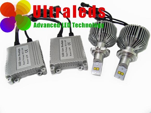 Zestaw HID LED H7 - LED PHILIPS 9000 LM GENERACJA III 3D