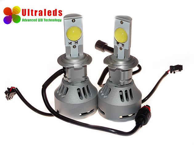 Zestaw żarówek LED H7 72W 6400LM Cree LED